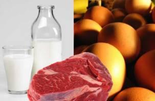 На Смоленщине стали меньше производить мяса и молока