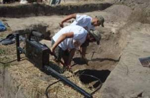 Археологи в Смоленске начали изучать Смядынь