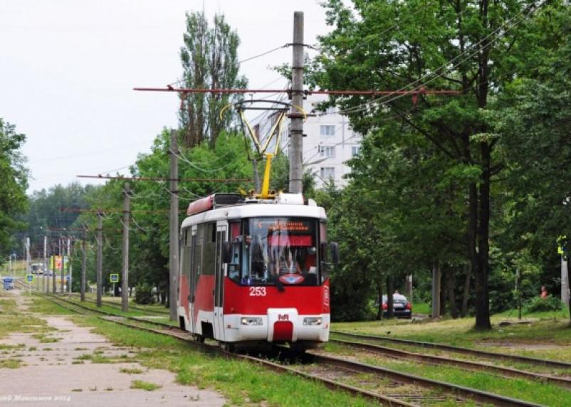 Конечная. По улице Рыленкова перестает ходить трамвай