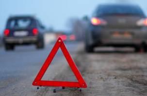 В ДТП в Новодугинском районе водитель съехал в кювет