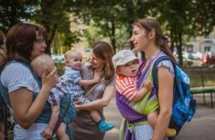 В Смоленске состоится флэшмоб в поддержку грудного вскармливания