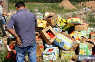 В Смоленской области уничтожены тонны томатов и персиков