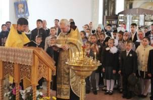 Патриарх Кирилл помолится за смоленских школьников