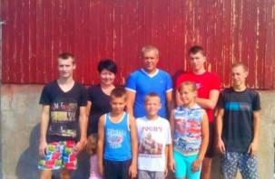 Приемная семья из Смоленска поделилась своей историей