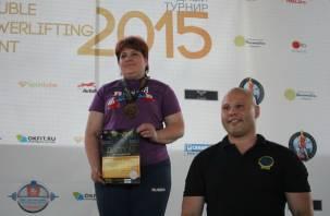 Сотрудница смоленского СИЗО – чемпионка России по пауэрлифтингу