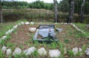 Смоленская полиция восстановит памятник, разрушенный вандалами
