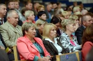 В Смоленске муниципальные образования провели свой съезд