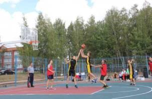 В Смоленской области появилась уникальная спортивная площадка