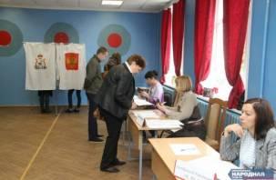 Результаты выборов в Смоленске.  Данные на 7:45