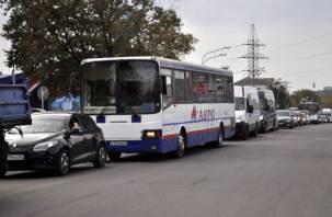 Побочный эффект. Новые светофоры возле «Линии» спровоцировали огромную пробку