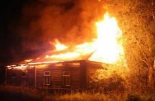 В Смоленской области мужчина погиб в огне