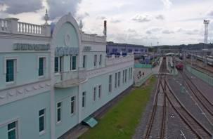 В Смоленске изменено время движения пригородных поездов