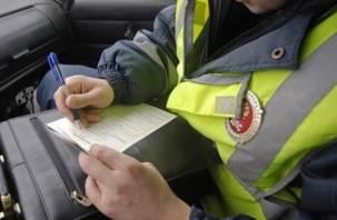 В Смоленской области пьяный водитель угрожал полицейским оружием