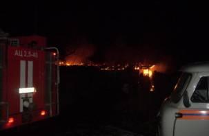 В Смоленской области в огне погибла семья