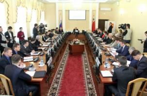 В Смоленске состоялась первая сессия Горсовета V созыва