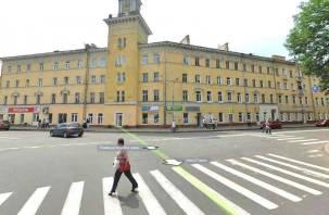 На перекрестке в центре Смоленска оборудуют круговое движение