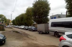 Водители в шоке. В Смоленске появилась московская пробка
