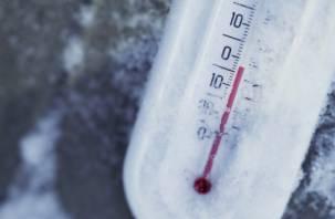В Смоленске был побит рекорд минимальной температуры