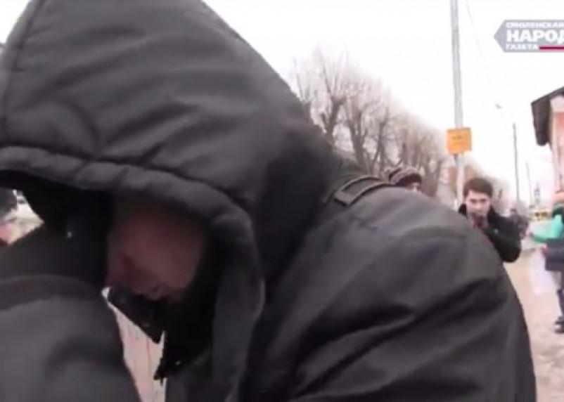 Сработали «на отвали». В Смоленске прошла акция против депутата Госдумы