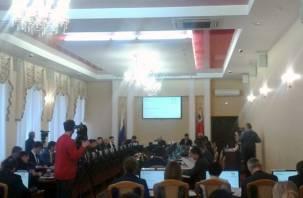 В Смоленске проходит очередная сессия Смоленского горсовета. Онлайн-трансляция