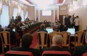 Депутаты Горсовета избирают главу Смоленска. Онлайн-трансляция