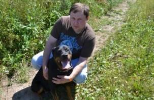 В Смоленской области нашли собаку, украденную в Дзержинске