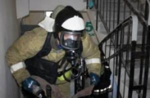 Ночью вспыхнул пожар на улице 25 Сентября. Есть пострадавшие