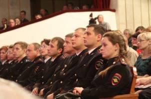 В Смоленске прошли торжества, посвященные Дню полиции