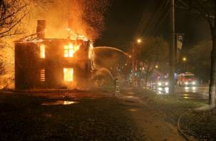 Полиция проводит проверку по фактам пожаров на улице Шевченко