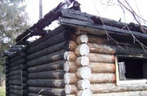 В Смоленской области за один вечер сгорели две бани