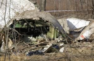 Прокуратура Польши официально огласила причины крушения самолета под Смоленском