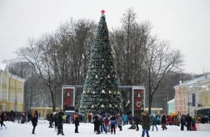 Смоленск – в топе городов, популярных для посещения в Новый год