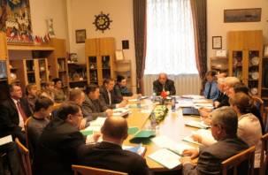 В Смоленском горсовете обсуждают повышение коммунальных платежей и отмену ветеранских выплат