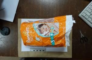 Наркоторговцы завезли в Смоленск героин в упаковке детских памперсов