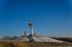 Под Смоленском открыли памятник воинам, погибшим в XVII веке
