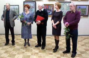 В Смоленске открылась выставка художника Владимира Мальцева