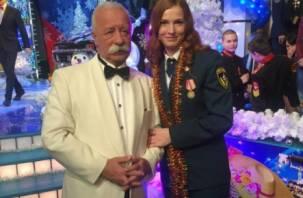 Смолянка приняла участие в съемке передачи «Поле чудес», посвященной 25-летию МЧС
