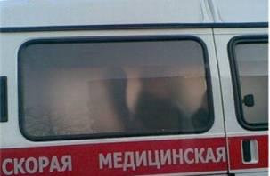 В Смоленске в результате ДТП карета скорой помощи перевернулась
