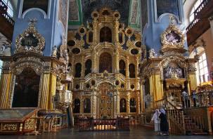В Свято-Успенском соборе отреставрируют иконы