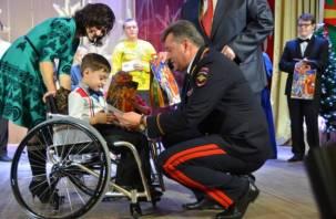 Смоленская полиция поддержала творческих детей
