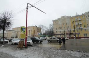 В центре Смоленска появится новый светофор
