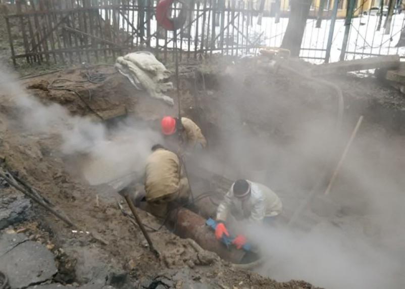 Смоляне, живущие на улице Индустриальной, остались без тепла