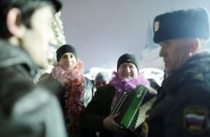 Новогодние праздники – под контролем смоленской полиции