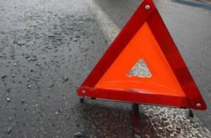 В Смоленске произошло тройное ДТП, есть пострадавшая