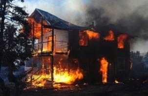 В Кардымовском районе мужчина погиб в огне