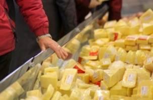 В Смоленске белорусских сыров станет меньше