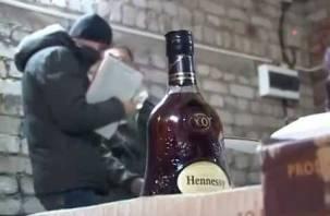 В Смоленской области нашли склад поддельного алкоголя