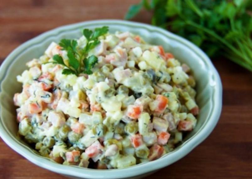 Сколько стоит салат «Оливье» в Смоленске