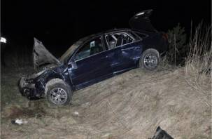 В Ярцевском районе водителя зажало в машине