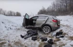 В Сети появились кадры страшной аварии на трассе М1
